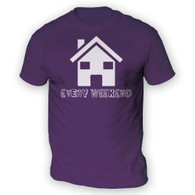 House Every Weekend Mens T-Shirt