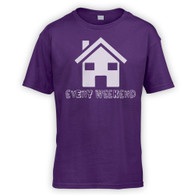 House Every Weekend Kids T-Shirt