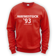 Waynestock 93 Sweater