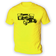 Ratlook Hot Rod Pickup Mens T-Shirt