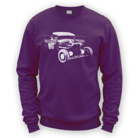 Ratlook Hot Rod Pickup Sweater