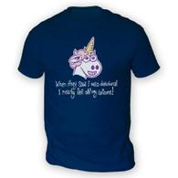 Unicorn Delusion Mens T-Shirt