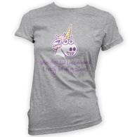 Unicorn Delusion Womans T-Shirt