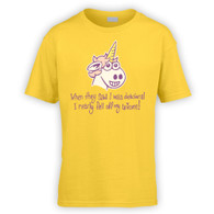 Unicorn Delusion Kids T-Shirt