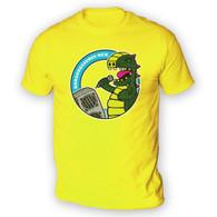 Karaoke Rex Mens T-Shirt