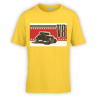 V8 Coupe Hot Rod Kids T-Shirt