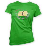 I Love My Brick Womans T-Shirt