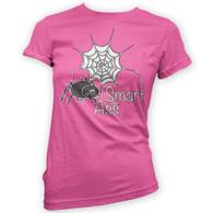 Spider Smart Ass Womans T-Shirt