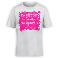 Eat Glitter and Sparkle Kids T-Shirt