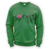 I Love Cats II Sweater