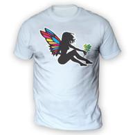 Girl Fairy Mens T-Shirt