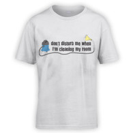 Don't Disturb When Cleaning My Room Kids T-Shirt