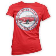Grow Up Optional MGBGT Womans T-Shirt