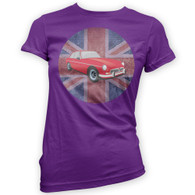 British MGBGT Womans T-Shirt