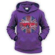 British MGBGT Kids Hoodie
