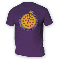 Pizza Percentage Mens T-Shirt