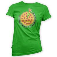 Pizza Percentage Womans T-Shirt