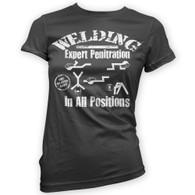 Welding Womans T-Shirt