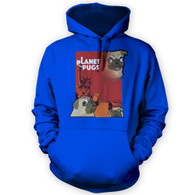 Planet of the Pugs Hoodie