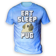 Eat Sleep Pug Mens T-Shirt
