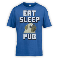 Eat Sleep Pug Kids T-Shirt