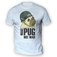 Make Cpt Pug Not War Mens T-Shirt