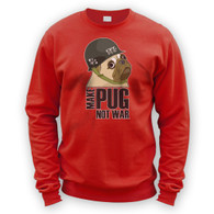 Make Cpt Pug Not War Sweater