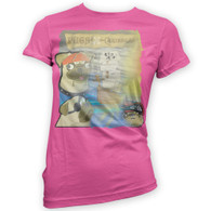 Pugs of the Caribbean Womans T-Shirt