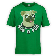 Hug a Pug Kids T-Shirt