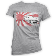 Japanese Skyline R33 Womans T-Shirt