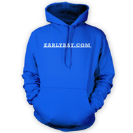 EarlyBay.com Classic Badge Script Hooded Jumper (Unisex)