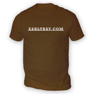 EarlyBay.com Classic Badge Script Mens T-Shirt