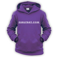EarlyBay.com Classic Badge Script Kids Hooded Jumper (Unisex)