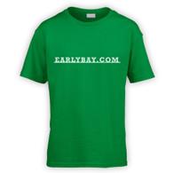 EarlyBay.com Classic Badge Script Kids T-Shirt (Unisex)