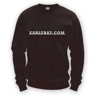 EarlyBay.com Classic Badge Script Sweatshirt Jumper (Unisex)