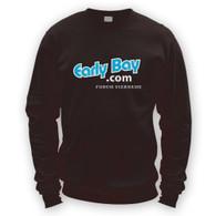 EarlyBay.com Logo + USERNAME Sweatshirt Jumper (Unisex)