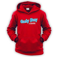 EarlyBay.com Logo Kids Hooded Jumper (Unisex)