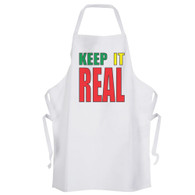Keep Staines Real Apron