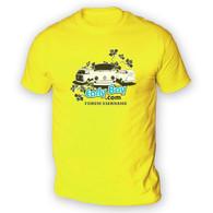 EarlyBay.com Flower Logo + USERNAME Mens T-Shirt