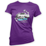 EarlyBay.com Flower Logo + USERNAME Woman's T-Shirt