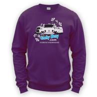 EarlyBay.com Flower Logo + USERNAME Sweatshirt Jumper (Unisex)