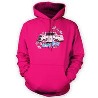 EarlyBay.com Flower Logo Hooded Jumper (Unisex)