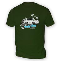 EarlyBay.com Flower Logo Mens T-Shirt