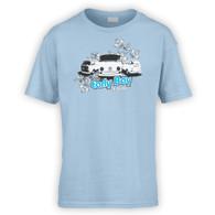EarlyBay.com Flower Logo Kids T-Shirt (Unisex)