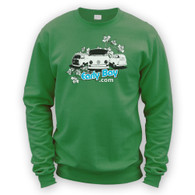 EarlyBay.com Flower Logo Sweatshirt Jumper (Unisex)