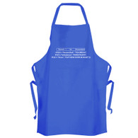 Formula for Accountants Apron