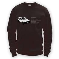 Fiat Inbetweeners Sweatshirt Jumper (Unisex)