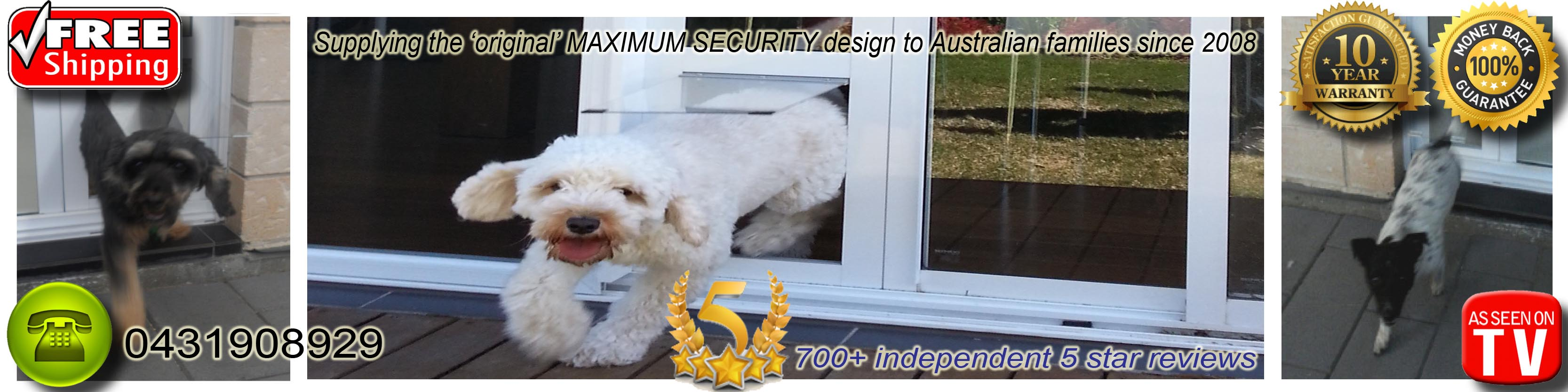 Sliding Pet Doors For Dogs And Cats