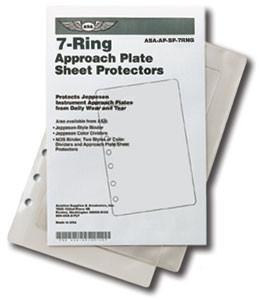 ASA 7-Ring Sheet Protectors (ASA-AP-SP-7RNG)-SkySupplyUSA