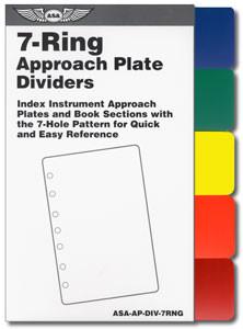 ASA 7-Ring Color Dividers  (ASA-AP-DIV-7RNG)-SkySupplyUSA